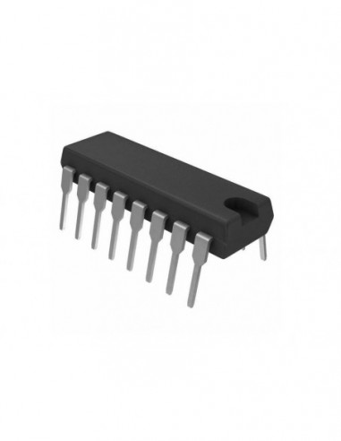 N82S23F IC CDIP-16 PROM 32x8 PHILIPS