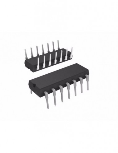 MC74F00N IC DIP14 NAND GATE