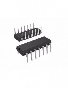 CD74HC4066E IC DIP-14 Quad...
