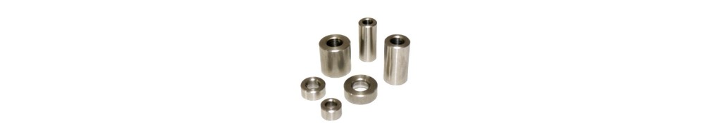 Round metal spacers for PCB